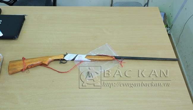 Khẩu súng Hà Duy Tuyết sử dụng bắn chết em rể