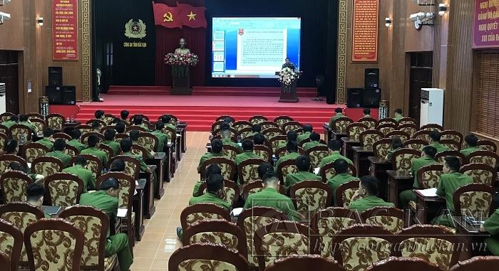 Lực lượng CSKT tập huấn, nâng cao trình độ, chuyên môn, nghiệp vụ